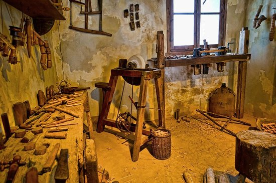 Medieval Woodworking Shop Picture Of Musee Du Quercorb