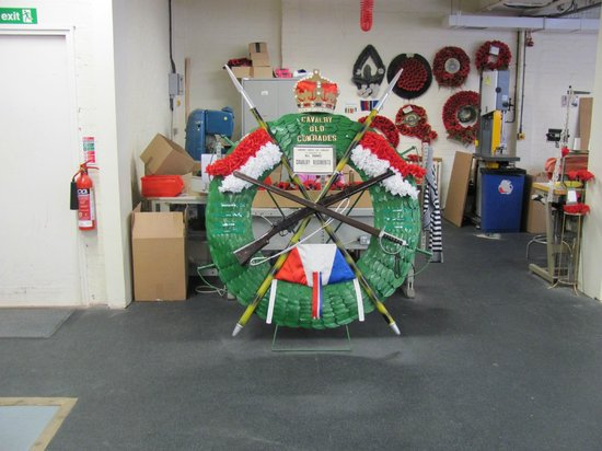 The Poppy Factory: Wreath for a unit