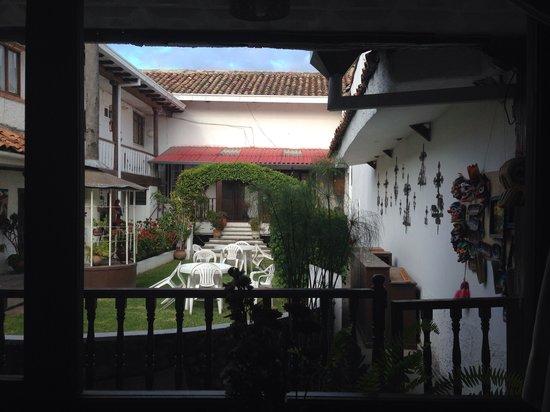 Hostal Macondo: View from room #1