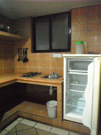 Hotel Vistamar: Cocineta