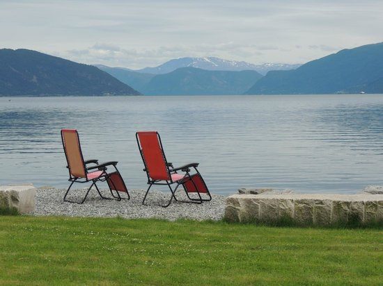 Balestrand Hotel: View from Hotel