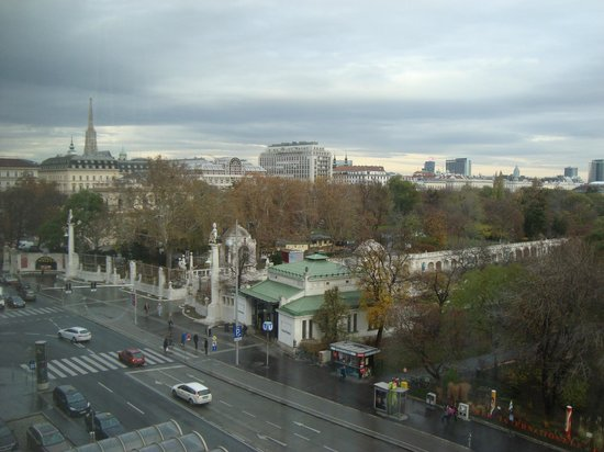 InterContinental Wien: room view