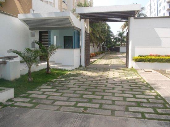 Vistamarina Casa Hotel: desde afuera