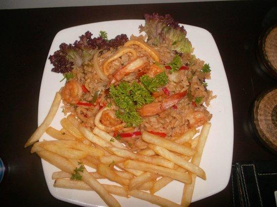 Vistamarina Casa Hotel: arroz vistamarina ummmmm delicioso