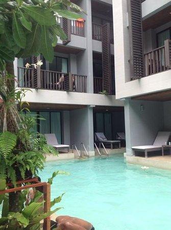 Aree Tara Resort: aree tara Pool