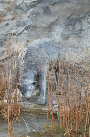 Nk'Mip Desert Cultural Centre: winter bear