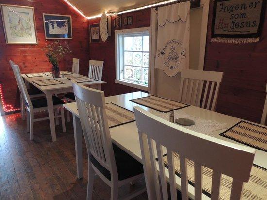 Pilgrim Restaurant: Upstairs Dining