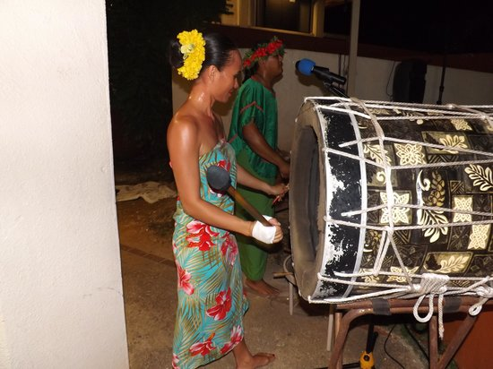 Chamorro Village: The drum beats made the whole performance so exciting.