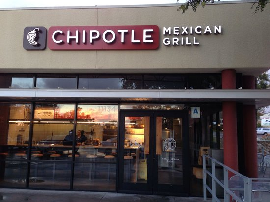 Chipotle Mexican Grill Carmel Mountain Location San Go Ca