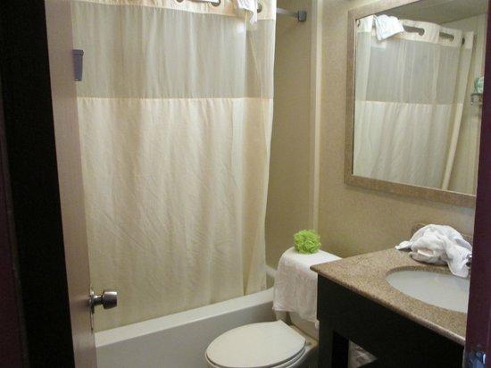 Howard Johnson Inn Clifton NJ: Bathroom