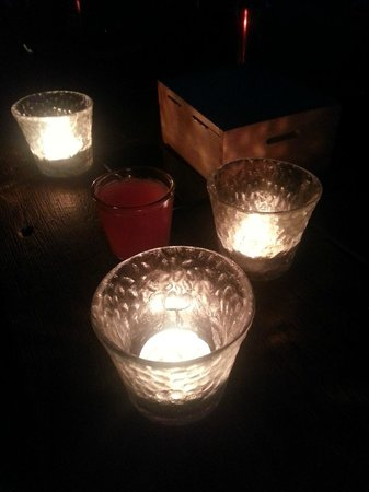The Iron Fairies: Candles on the tables