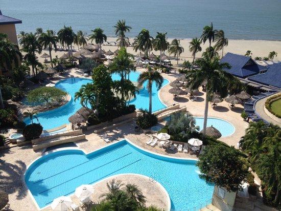 Zuana Beach Resort: Vista