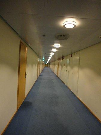 Original Sokos Hotel Vaakuna: 廊下がとても長い
