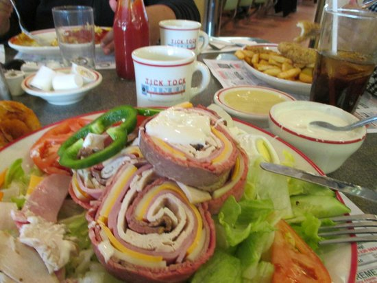 Our table in the Tick Tock Diner - Chef Salad