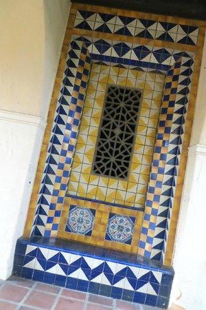 decorative tile details