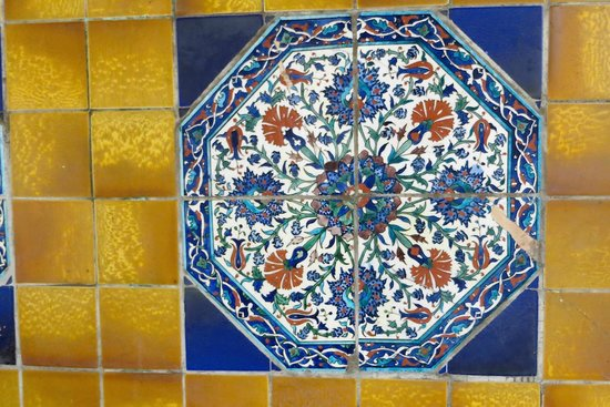 exquisite old tiles