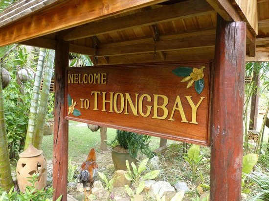 Thongbay Guesthouse: Welcoming rooster
