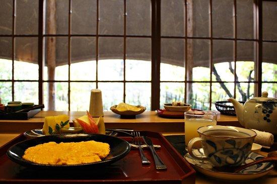 Shiraume : Breakfast view