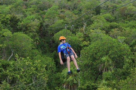 Mayan Jungle Tour: zipline