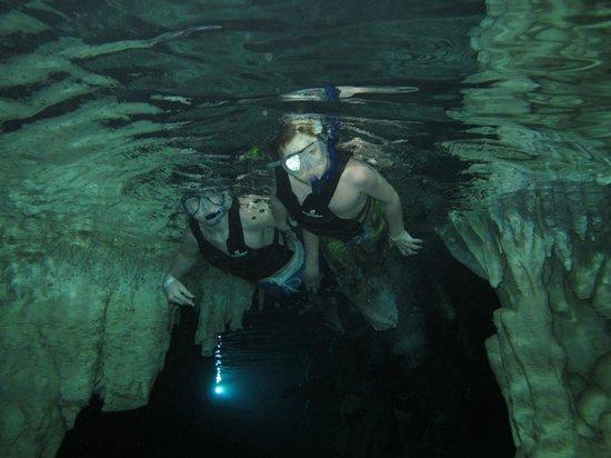 Mayan Jungle Tour: snorkelling in denote