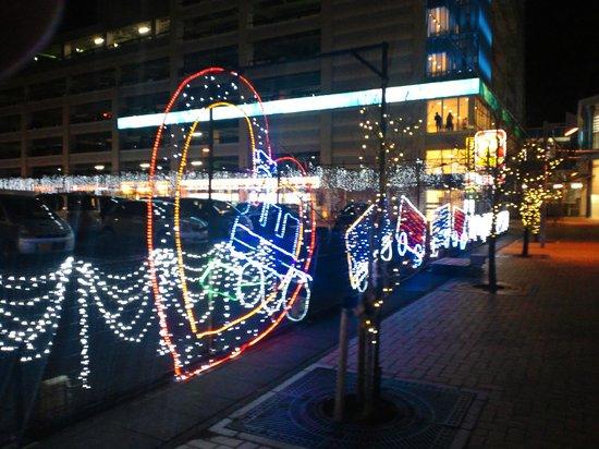 Fujieda Tomari: 藤枝駅前イルミ2
