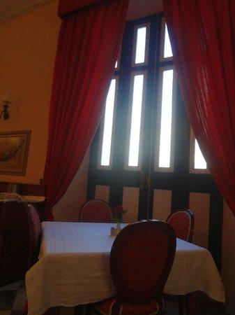 Hotel Florida: instalaciones del restaurante