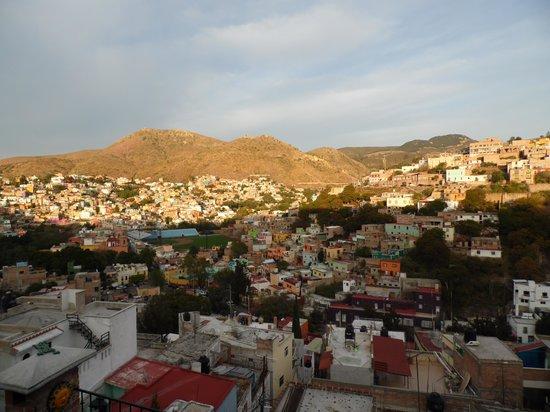 Casa de Dante Hostel: Vista desde la terraza