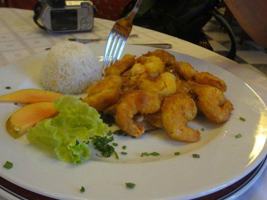 Hotel Florida: el otro plato, tempura de camarones