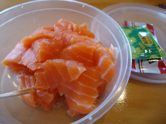 High Country Salmon: sashimi