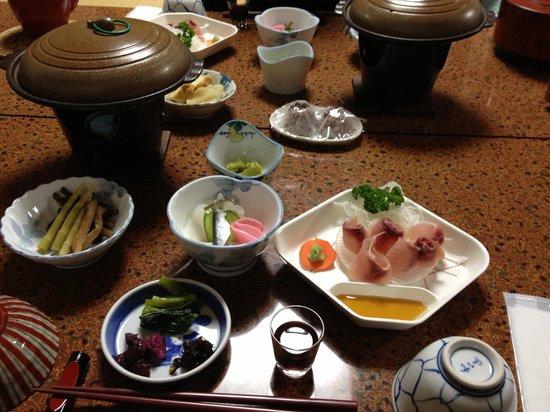 Tsuyukusa: 夕食