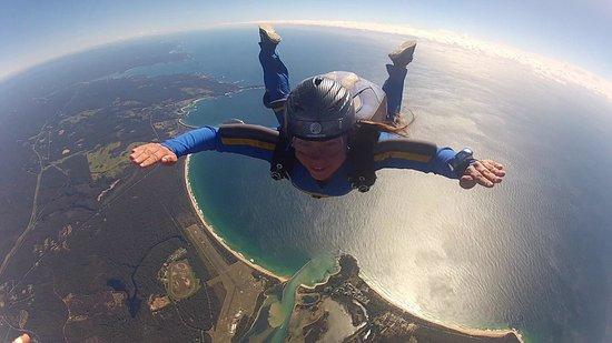 SkyDive Oz: Best view of Moruya :)
