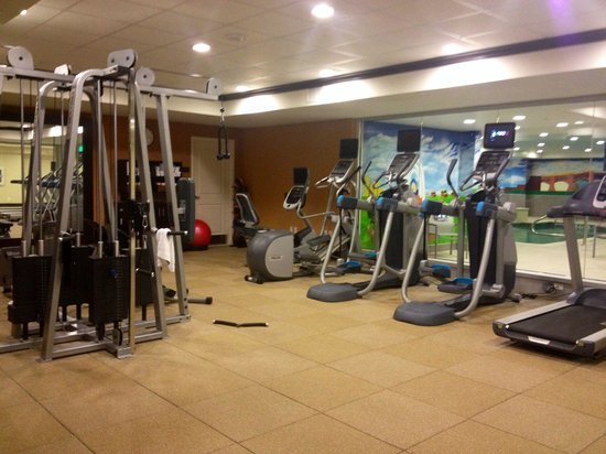 Homewood Suites by Hilton Dallas Downtown: Nice fitness center