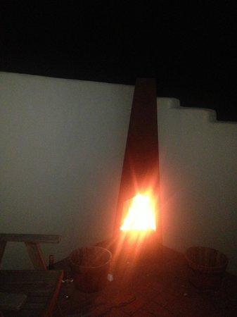 Casa La Vina: Outside Fire
