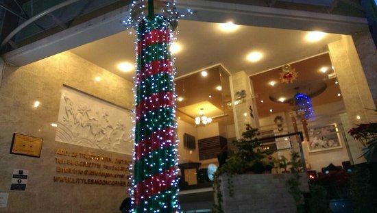 Little Saigon Corner Boutique Hotel: Lobby from below