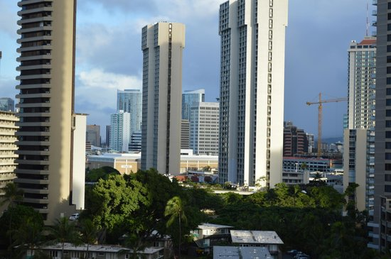 Ramada Plaza Waikiki: View from our room!
