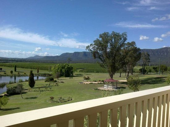 Willow Tree Estate: The view from the Balcony of the 'French Room'