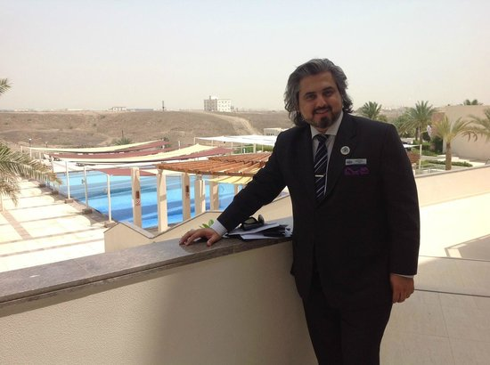 Crowne Plaza Sohar: Pool area was a highlight