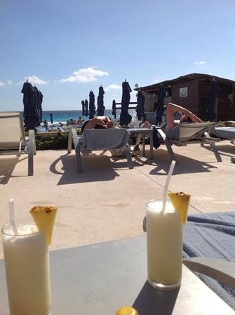 Secrets The Vine Cancun: pina colada