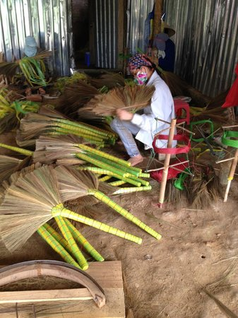 Bloom Microventures: Broom making initiative for local women