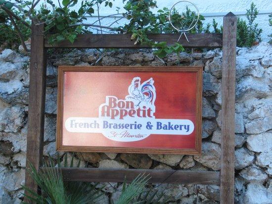 Bon Appetit signage