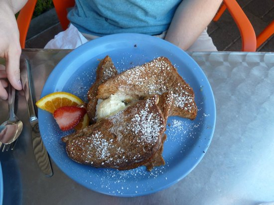Cafe 222 : Peanut Butter/Bananas French Toast