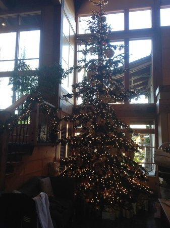 Willows Lodge: Christmas in the Lobby