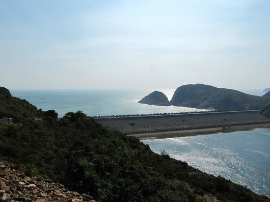 MacLehose Trail : View from the East Dam