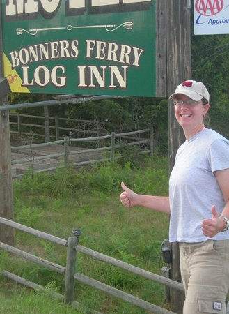 Bonners Ferry Log Inn: at the Inn