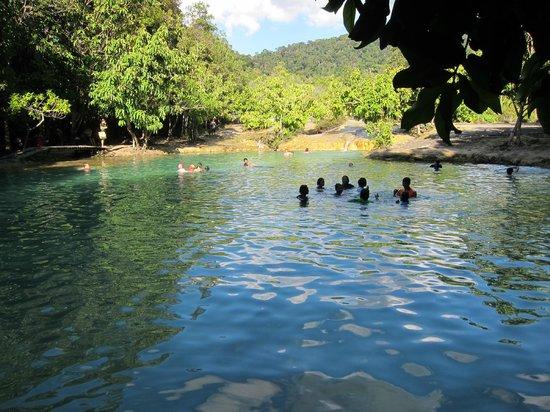 Emerald Pool (Sa Morakot): Emerald Pool