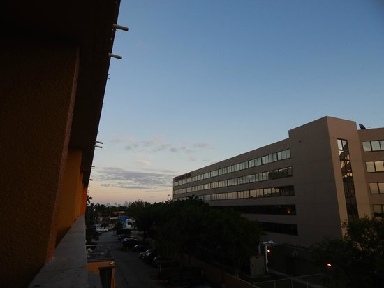 Regency Hotel Miami: Balcón
