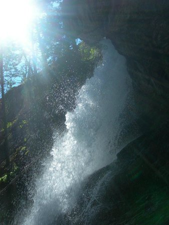 Baring Falls: from the sun road, of course