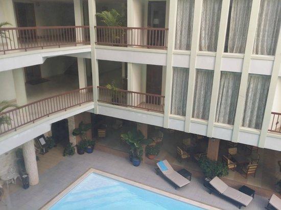 Smiling Hotel & Spa: vue de la chambre