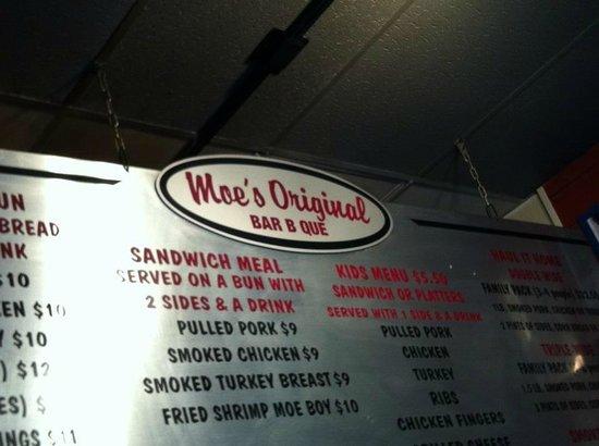 Moe's Original BBQ: Moe's!
