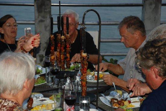 Mamma Mia Grill & Restaurant Rawai: Grillspett/ Kebab - Mamma Mia Rawai
